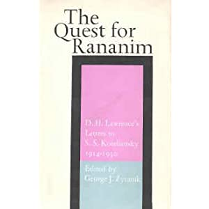 Amazon.com: The Quest for Rananim: D. H. Lawrence's Letters to ...