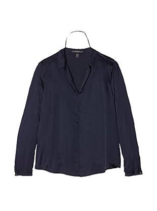 ESPRIT Collection Camisa Mujer (Azul)