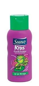 Suave For Kids Conditioner Plus Detangler, Go Go Grape - 12oz.