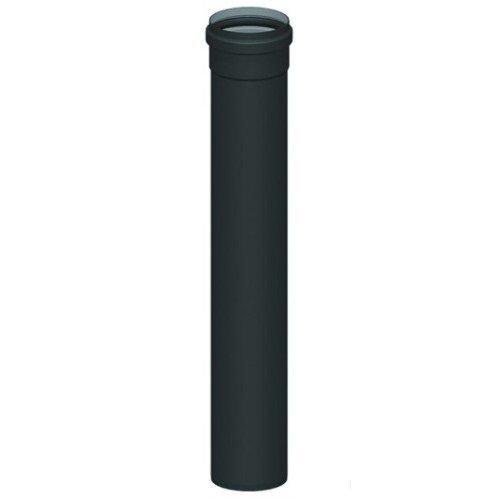 Rauchrohr 250mm D. 80mm Abgasrohr Kaminrohr Rohr Ofenrohr Pellet