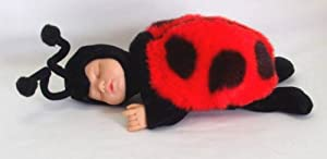 Anne Geddes Sleeping Baby Ladybug Doll 8 by Anne Geddes