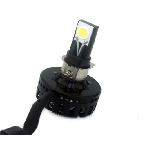 Ediors 10W 15W High/Low Beam Switch Led Headlight Light Lamp For Harley Kawasaki Motorcycle Motorbike