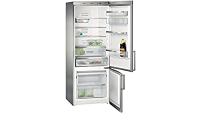Siemens KG57NAI50I Bottom Freezer Frost-free Double-door Refrigerator (505 Ltrs, Stainless Steel)