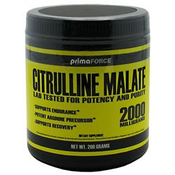 Primaforce Citrulline Malate 200 Grams Post Workout