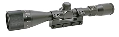Hammers 4-12X40AO Air Gun Rifle Scope for High Power Magnum Spring Air Gun Rifle with One Piece Mount Built-in Stop Pin from Hammers
