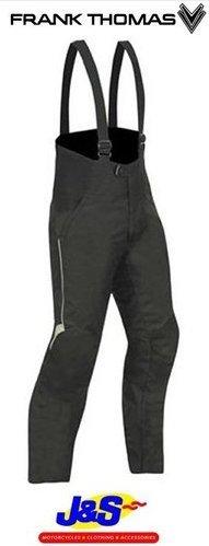 Frank Thomas ftw327Aqua Ride Taille Pantalon de moto moto Bavoir et textile pour J & S Noir