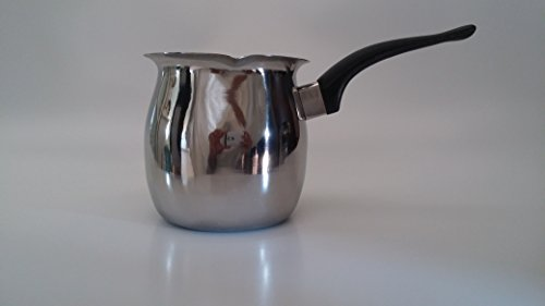 Turkish Warmer Finjan 27-Ounce Capacity, Made of Stainless Steel