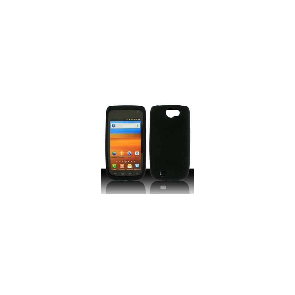 HHI Samsung SGH T769 Galaxy S Blaze 4G Silicone Skin Case   Black (Package include a HandHelditems Sketch Stylus Pen)