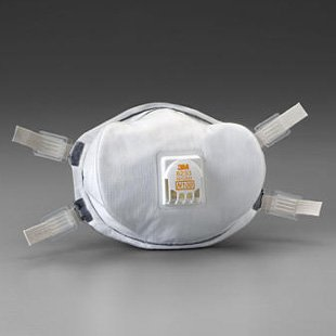 3M スリーエム 8233 N100 防塵マスク 世界最高水準(99.9%以上の捕集効率)5枚 放射能物質対応 [並行輸入品]