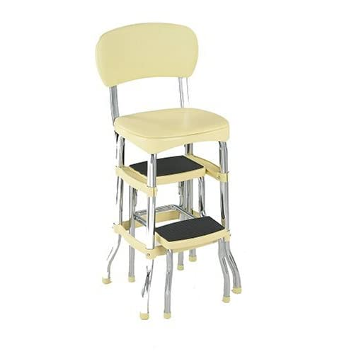 Cosco 11 120cby1 Retro Chair Step Stool Yellow