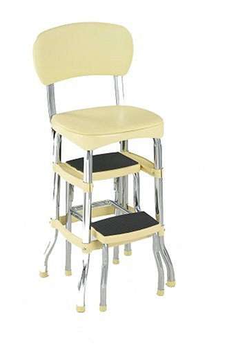 Cosco 11 120cby1 Retro Chair Step Stool Yellow Comment