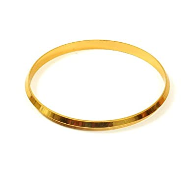 Jewbang 28 Size Gold Plated Bracelet For Men-JB439LOW28 at amazon