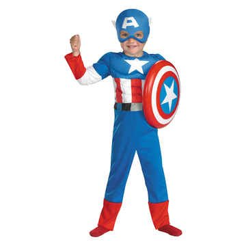 Marvel and Subs Fun Accessory Captain America Muscle 2T