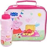 Peppa Pig Tea Party Lunch Bag and Bottle Set (80AFG35)