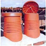 Chimney C Cap Disused Terracotta Colour
