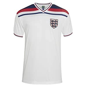England  England 1982 World Cup Finals Shirt - White, Medium