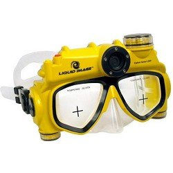 Liquid Image 3.1MP Explorer Series Camera Mask (Yellow/Black, Mid Size)