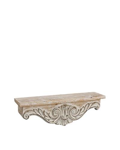 Huisraad meubilair plank wit