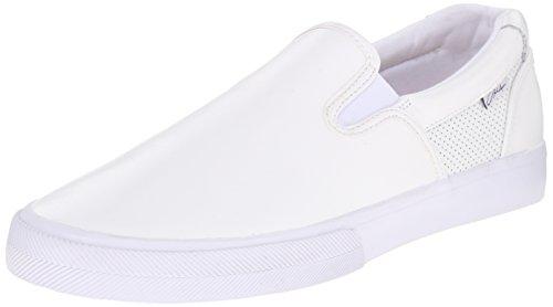 C1RCA Men's Corpus Skate Shoe, White/Gum, 10 M US