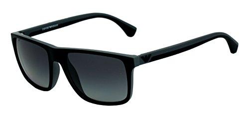 Emporio Armani Square Sunglasses (Black) (Ea 4033 5229/T3 3P)