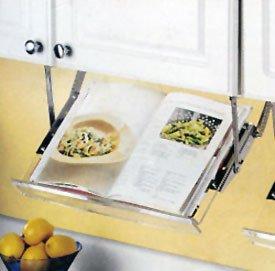 Exceptionnel KV Under Cabinet Pull Down Cookbook Holder