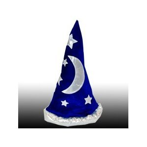 Mens Womens Child Renaissance Costume Merlin Wizard Hat - Available in Wizard