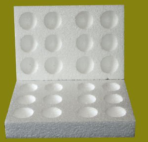 10 X12 Hole Polystyrene Egg Boxes Hatching All Sizes-Medium