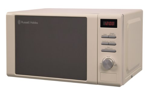 Russell Hobbs Heritage RHM2064C  Microwave Oven, 20 Litre, Cream