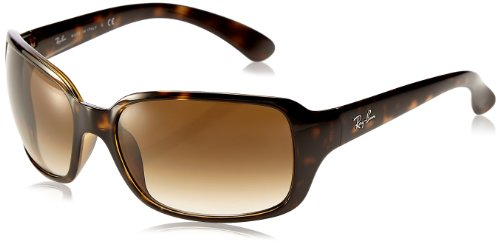 Ray-Ban Women's RB4068 Rectangular Sunglasses,