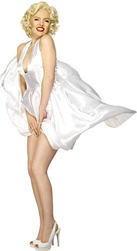 SMIFFYS Marilyn Monroe Classic Halterneck Dress, Taglia M (40 - 42 EU)