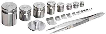 Rice Lake Stainless Steel Calibration Weight Set, NIST Class F, Metric
