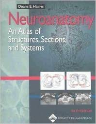 Neuroanatomy An Atlas of Structures, Sections, and Systems 6th Edition (Sixth Edition)