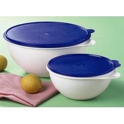 Tupperware Thatsa Bowl Jr - Laquer Blue