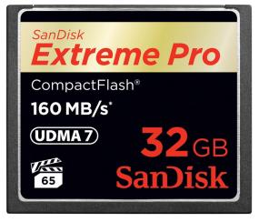 SanDisk Extreme PRO CompactFlash Memory Card (32 GB)