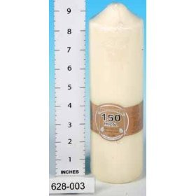 Candles - Church Pillar 150 Hrs Candle For The Home And Garden from Salco