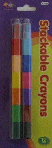 Multicolored Stackable Crayons
