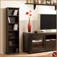 dvd regal kolonialstil massivholz k che haushalt. Black Bedroom Furniture Sets. Home Design Ideas