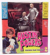 Buy Low Price McFarlane Austin Powers Dr. Evil Mini Me and Mini Mobile with 4 Sound Clips Figure (B00004S5HM)