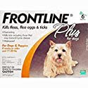 Frontline Plus Dog 0-22 Pounds, 6 Month