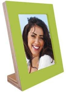 Green magnetic easel stand wood frame by Dennis Daniels® - 4x6