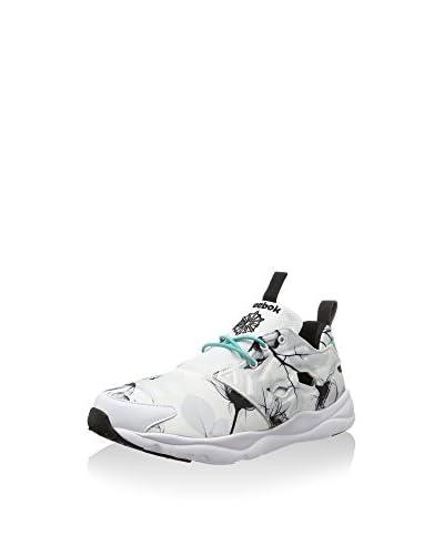 Reebok Sneaker Furylite Graphic weiß/schwarz/türkisgrün
