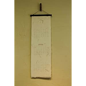 2013土佐和紙カレンダー 縦長 : 縦長カレンダー : カレンダー