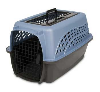 Petmate Two Door Top Load 24-Inch Pet Kennel,