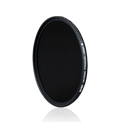 NiSi Neutral Density Filters ND1000 77mm, 10 Degrees Exposure, No Color Cast