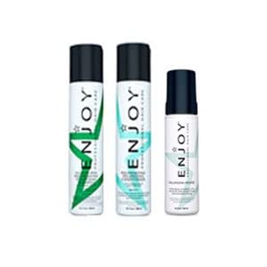 Enjoy Rejuvenating Volumizing Shampoo (10.1 oz), Conditioner (10.1 oz) & Volumizing Mousse (6.8 oz) Trio