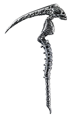 Disguise Men's Sin Scythe Costume Accessory, Silver, Adult