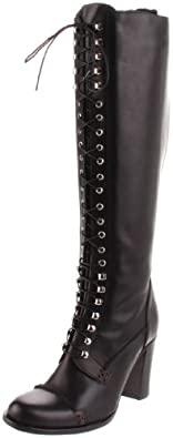 Charles David Women's Griot Knee-High Boot,Black,5.5 M US