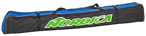 [해외] NORDICA(노르디카)RACE SINGLE SKI BAG 빅 logos 키 화이트 스키 판 0N301700002 BLUE×BLACK