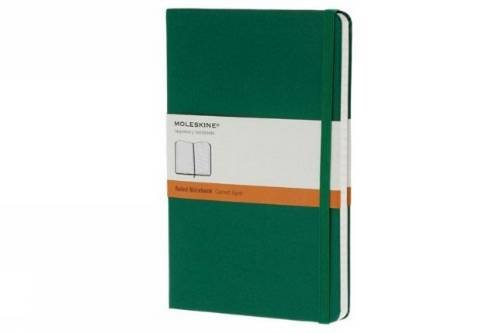 Moleskine Classic Notebook, Pocket, Ruled, Oxide Green, Hard Cover (3.5 x 5.5) (Classic Notebooks)