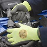 Marigold P3000 Puretough PU Palm Coated Glove - Amber - Size 10